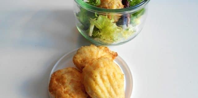 Madeleines au reblochon sans gluten