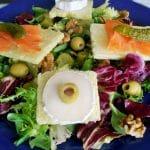 salade saumon fumé sans gluten