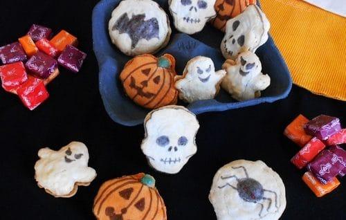 macarons halloween sans gluten