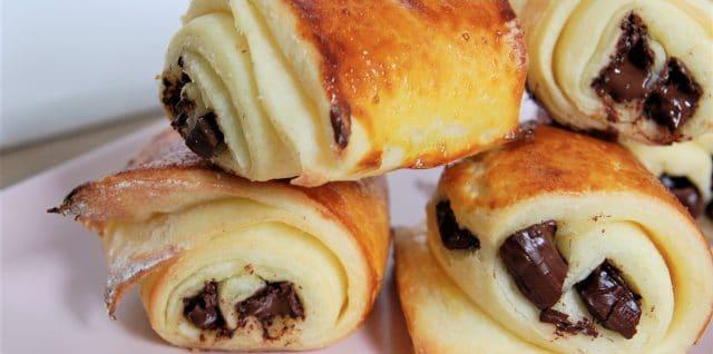 pains au chocolat et croissants sans gluten