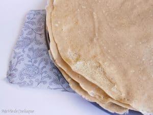 galette de sarrasin sans gluten sans lactose