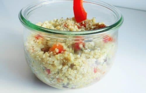 taboulé quinoa sans gluten