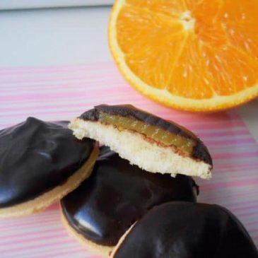 Génoises à l'Orange façon Pim's Sans Gluten
