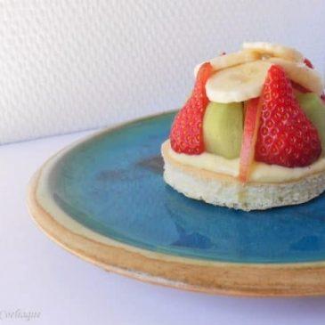 Génoise allégée aux fruits Sans Gluten