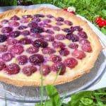 tarte aux cerises sans gluten