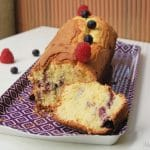 cake citron fruits rouges sans gluten