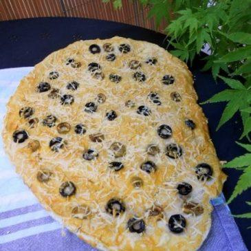 Fougasse aux Olives Sans Gluten
