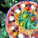 tarte couronne sans gluten facon pizza