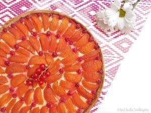 tarte aux abricots sans gluten sans lactose