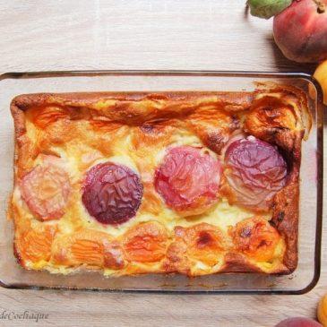 Clafoutis Pêche Abricot Sans Gluten Sans Lactose