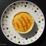 tarte à l'orange sans gluten sans lactose
