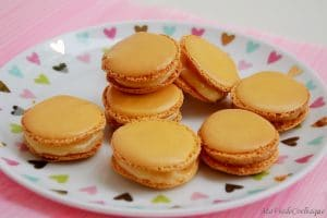 macarons au citron sans gluten