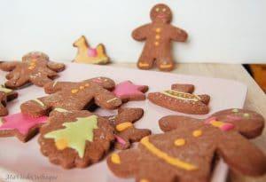 sablés de Noël sans gluten sans lactose