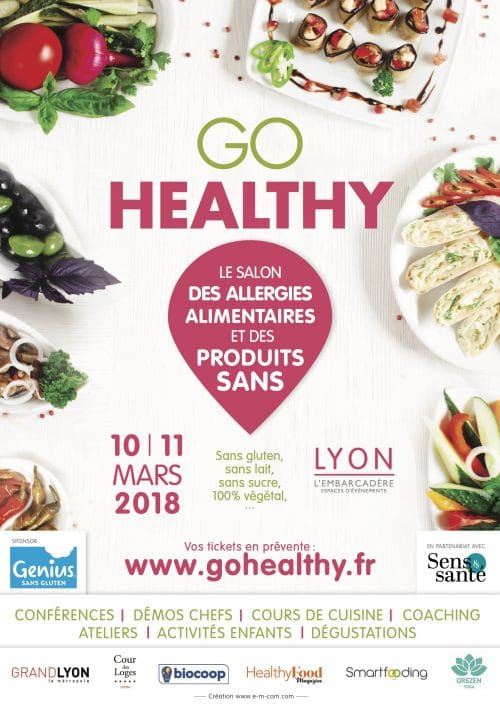 exposants salon go healthy 2018