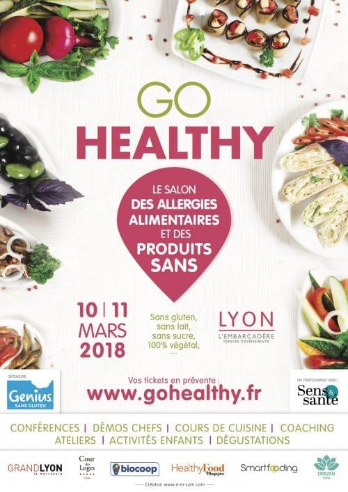conférences du salon Go Healthy 2018