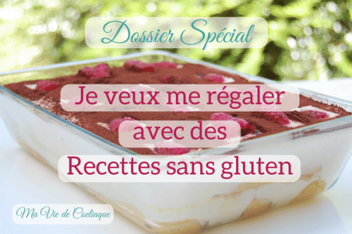 Recettes sans gluten