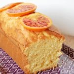cake à l'orange sanguine sans gluten