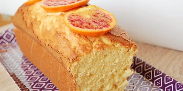 cake à l'orange sanguine sans gluten 1