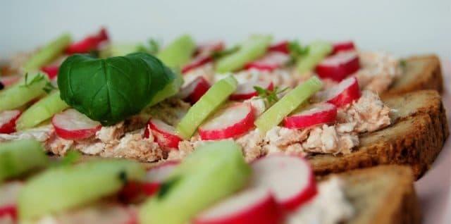 tartines salées sans gluten