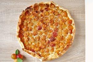 tarte aux mirabelles sans gluten sans lactose