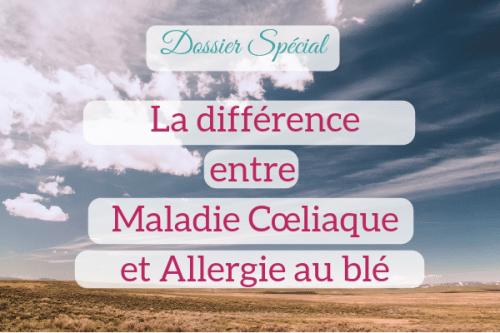 allergie au gluten , au blé, maladie coeliaque