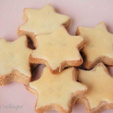 Bredeles étoiles à la cannelle sans gluten
