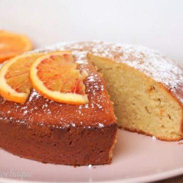 Gâteau miel orange cannelle sans gluten