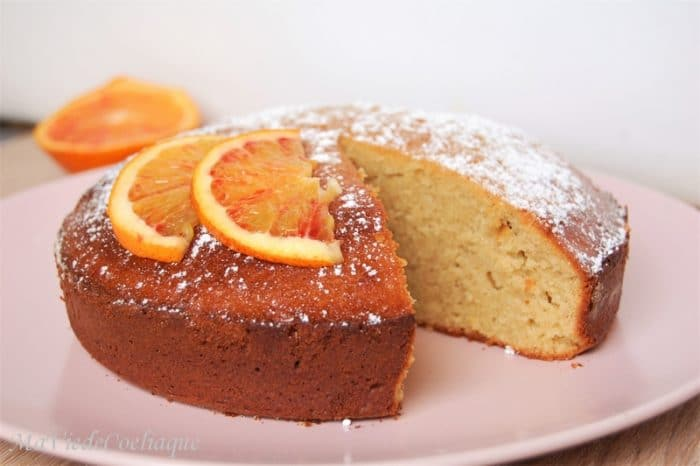 gâteau miel orange cannelle sans gluten