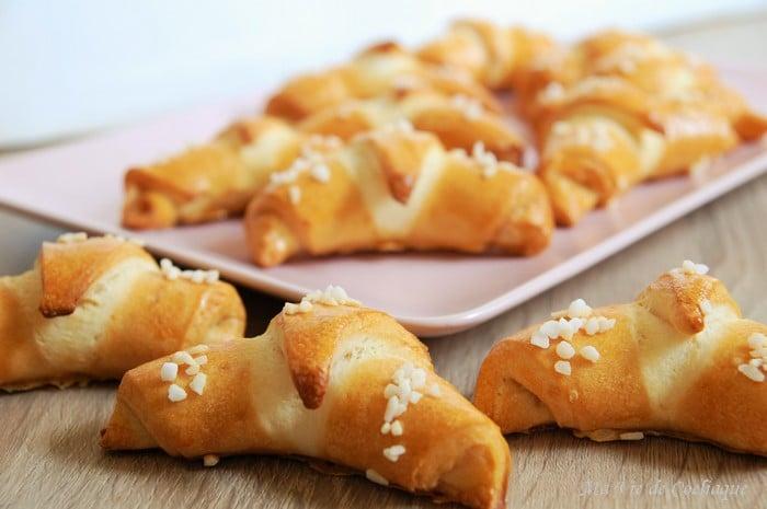 croissants bretzel sans gluten