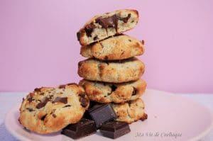 Cookies sans gluten sans lactose IG bas